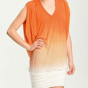 Young Fabulous & Broke Otti Ombre Ruched Dress
